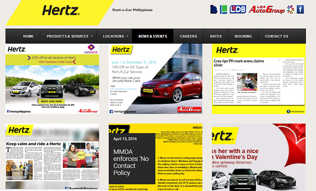 Rental Car Philippines >> Discounts Ph Hertz Rent A Car Philippines